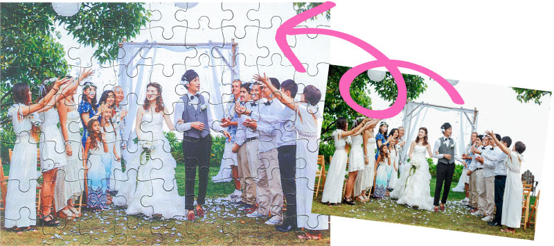 ご成約特典Photoジグソーパズル